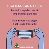 USE MÁSCARA!
